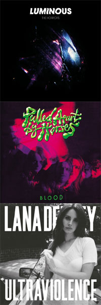 International Top 25 Albums 2014 3 x 25-40 - The Horrors - Pulled Apart By Horses - Lana Del Rey