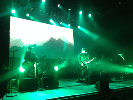 Interpol at the Olympia 10 Feb 2015