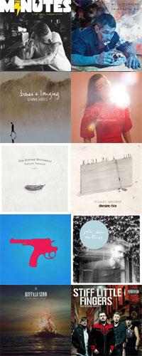 Roughcalmhead Top 40 Irish Albums 2014 x 10